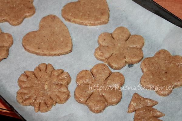 приготовление имбирного печенья
